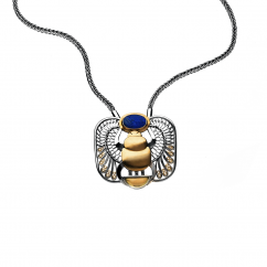 Filigree Winged Scarab