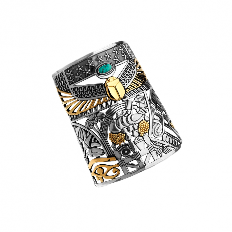 The Pharaonic Tale Cuff