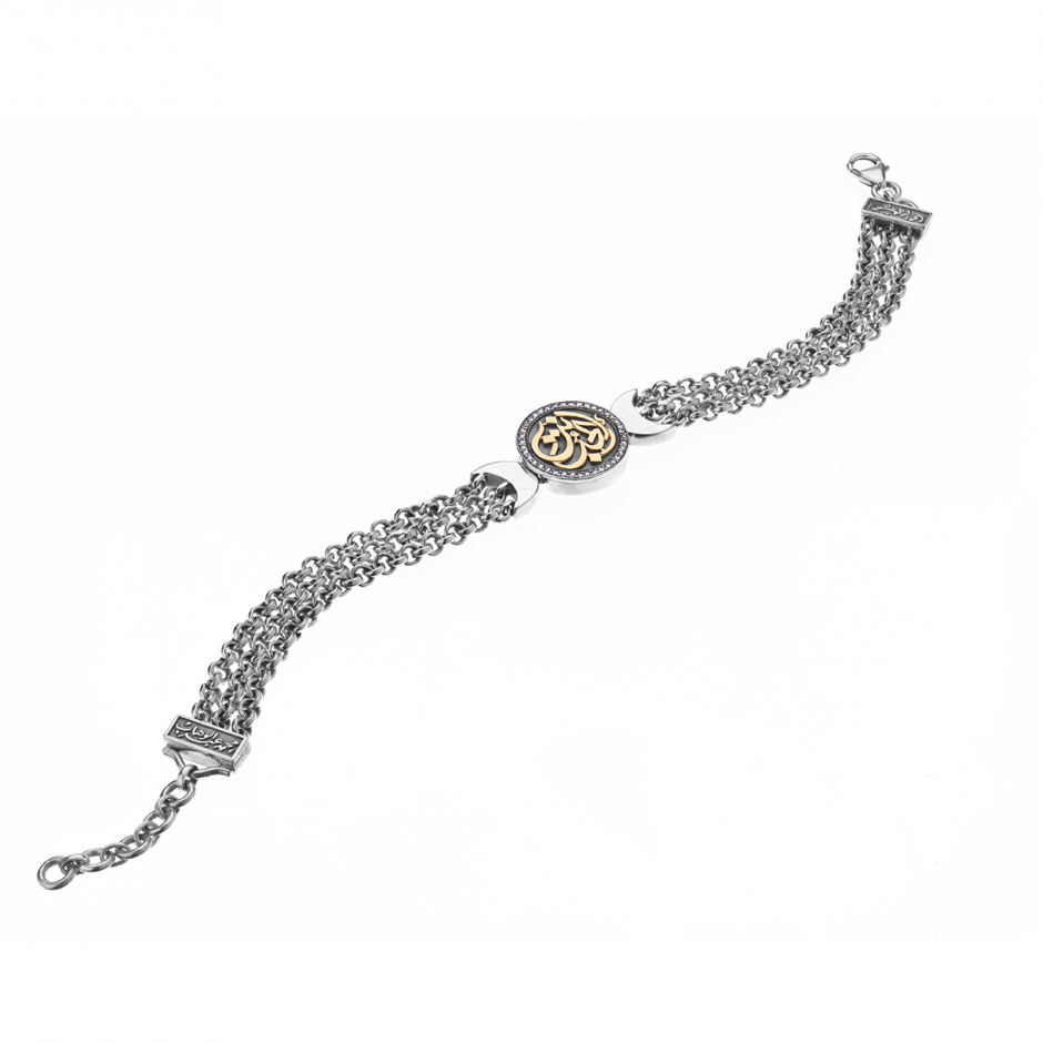 Diamond Coin Bracelet