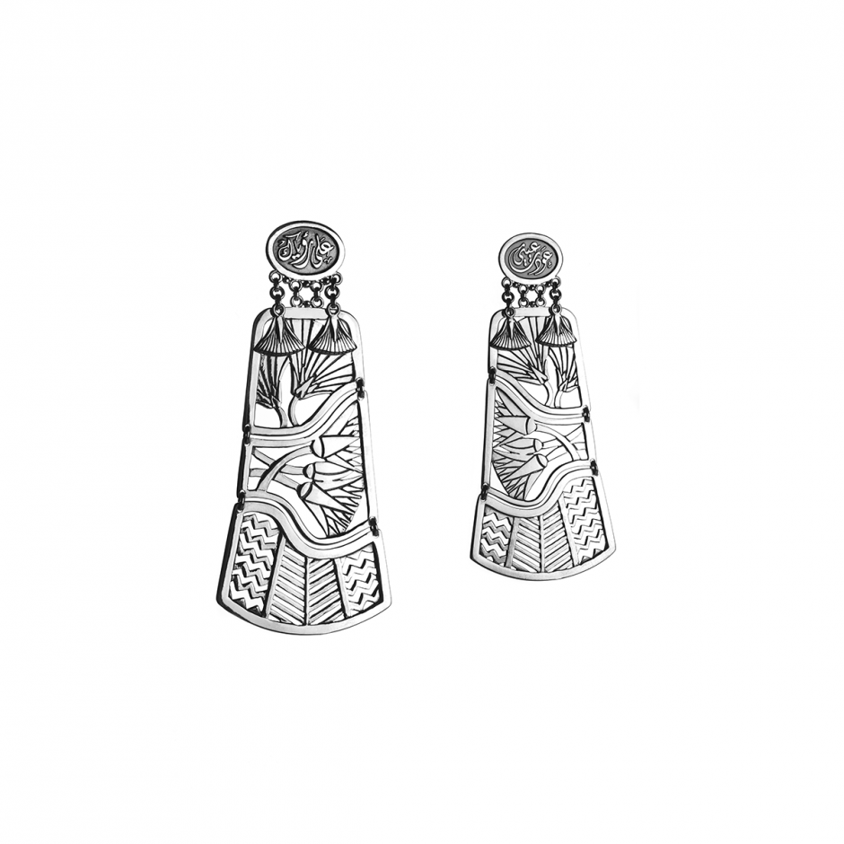 Tale of the Nile Earrings