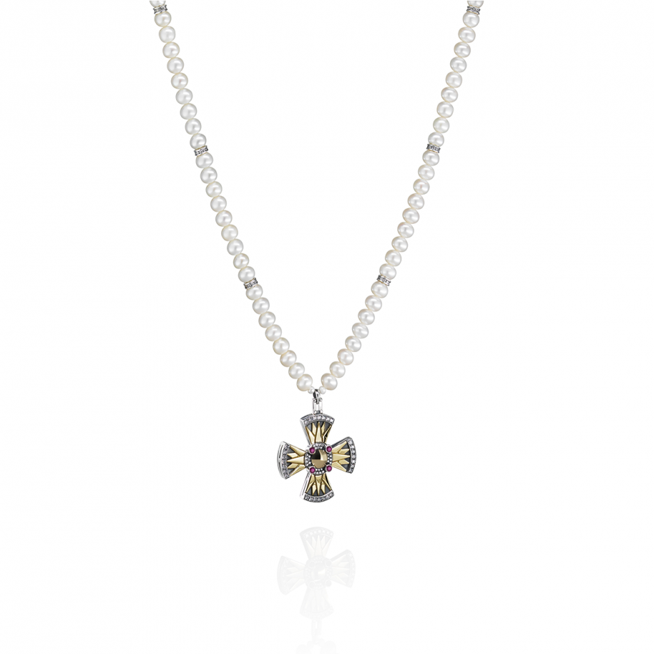 Coptic Cross Neckalce