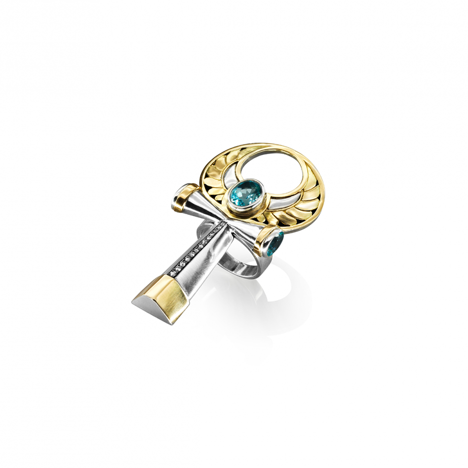 Key of Life Ring