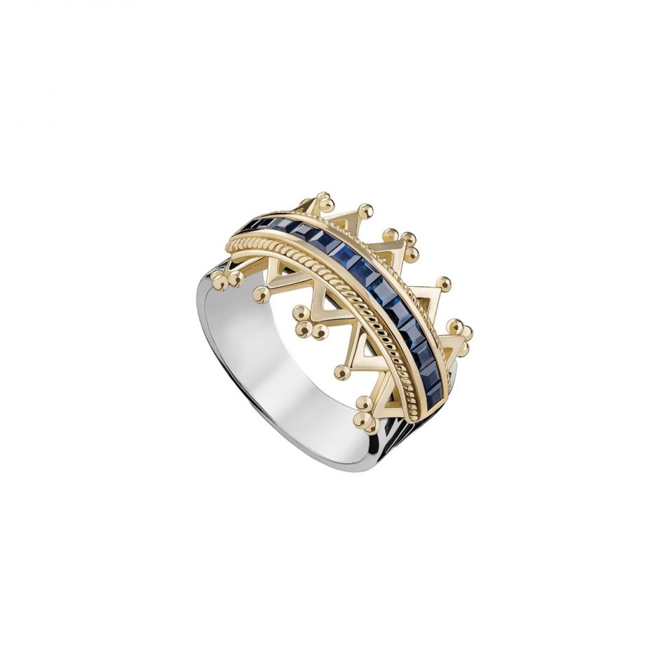 Crown Art Deco Ring